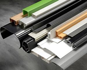 custom plastic c channel extrusions