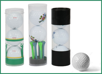 promotional golf ball tubes