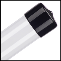 clear mailing tubes