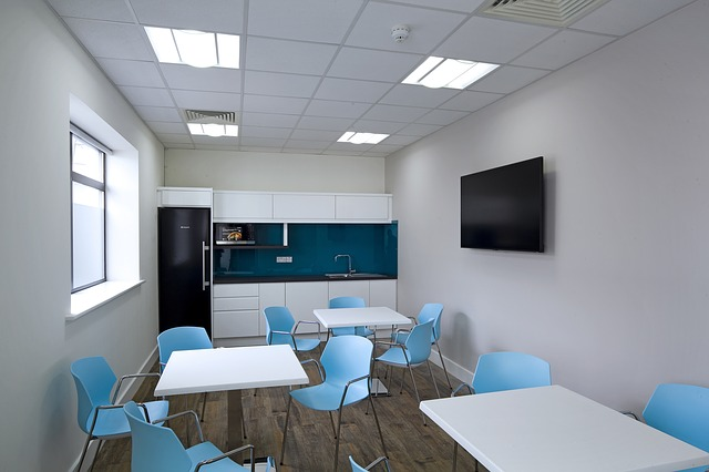 extruded plastic channels for office kitchens
