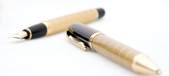 pens that are outside of their tubes